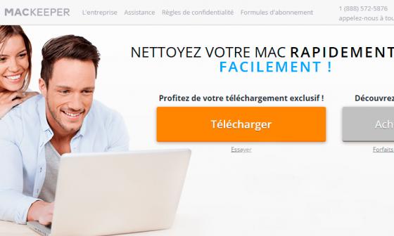 mackeeper outil nettoyage mac