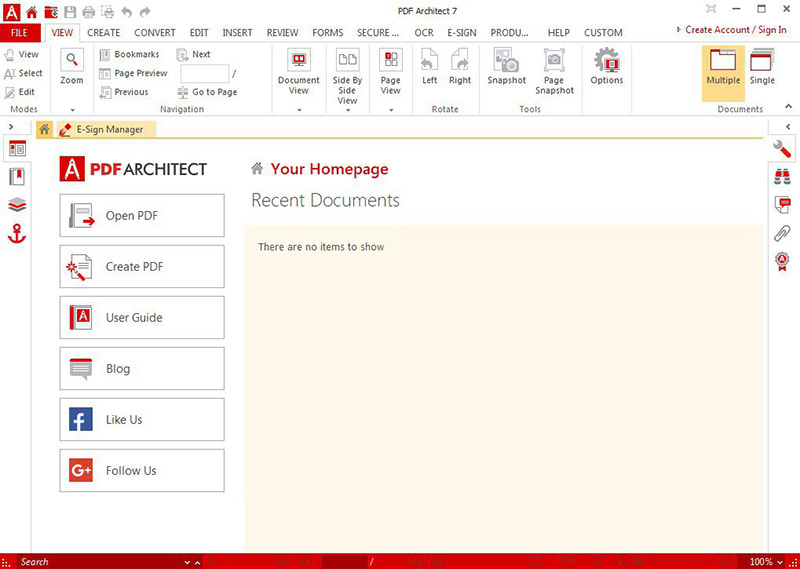 pdf architect page accueil